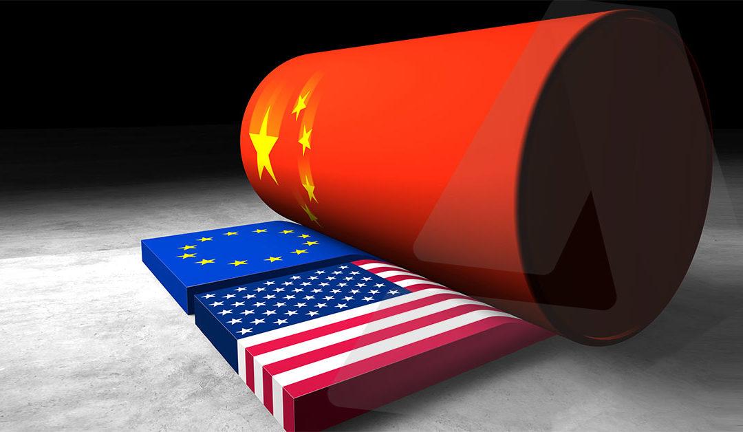 중국 공급 지배력의 우려