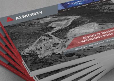 투자자 발표 – 알몬티 인더스트리 & 상동 광산 프로젝트
