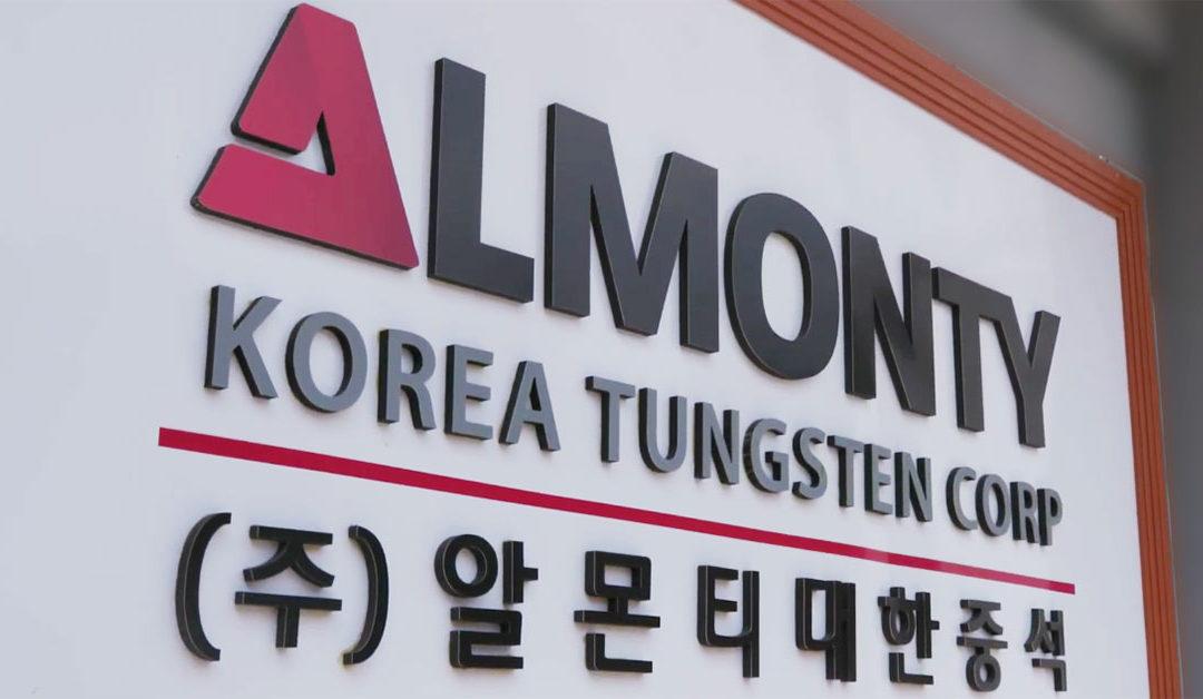알몬티, 한국에 대한 집중으로 전환하기 위한 기업 및 이사회 구조조정 개시 발표