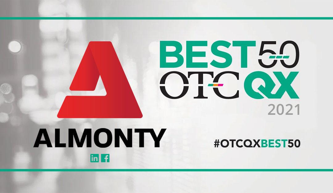 OTCQX 2021 - 베스트 50: 알몬티 인더스트리
